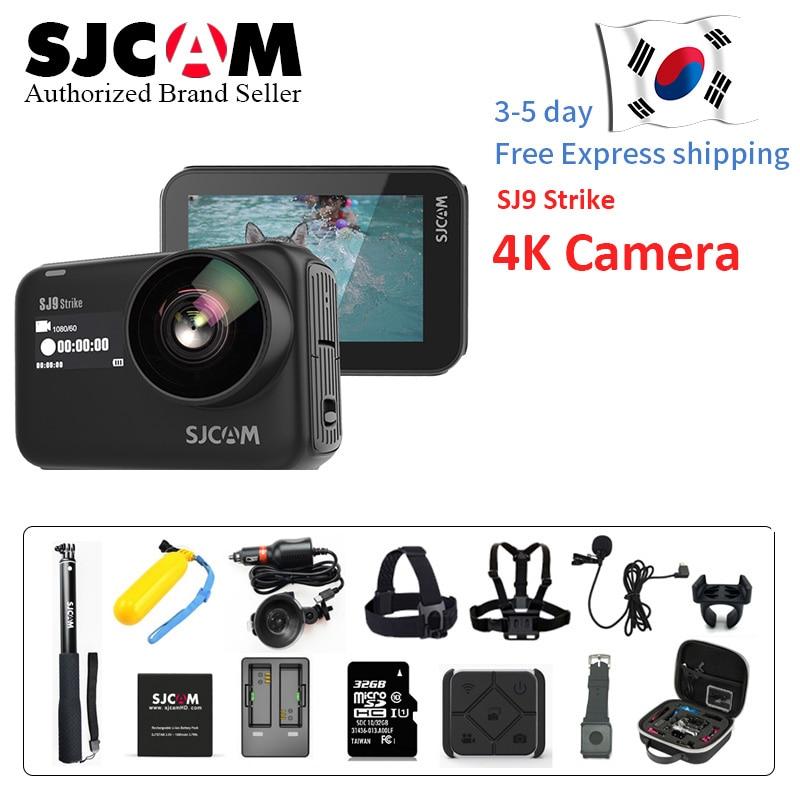 SJCAM SJ9 Strike 4K 60FPS WiFi Remote Helmet Action Camera 2 33 IPS Touch  Screen Gyrp EIS Living Stream Extreme Sports DV Camer