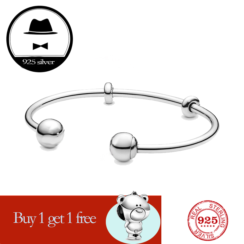 FIT original <font><b>pan</b></font> <font><b>bracelet</b></font> for women authentic 100% 925 <font><b>sterling</b></font> <font><b>silver</b></font> charm chain snake <font><b>bracelet</b></font> fashion classic luxury jewelry image