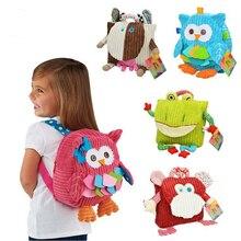 25cm Boys Girls Backpack Shoulder Snack Bag Toddlers Animals Daypack Children baby Kindergarten