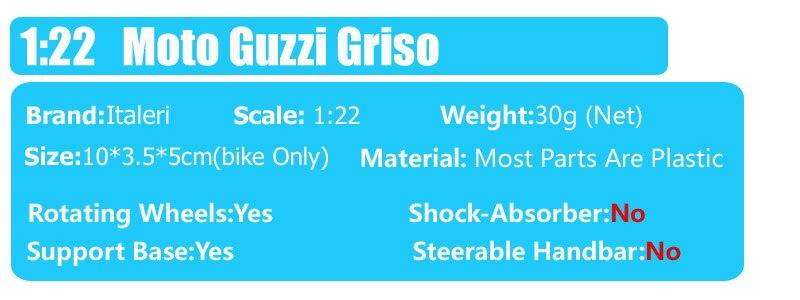 MG Moto Guzzi Griso Motorcycle 7