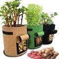 Plant grow bag garden seedling flower pot greenhouse vegetable planting vertical growth bag potato pot
