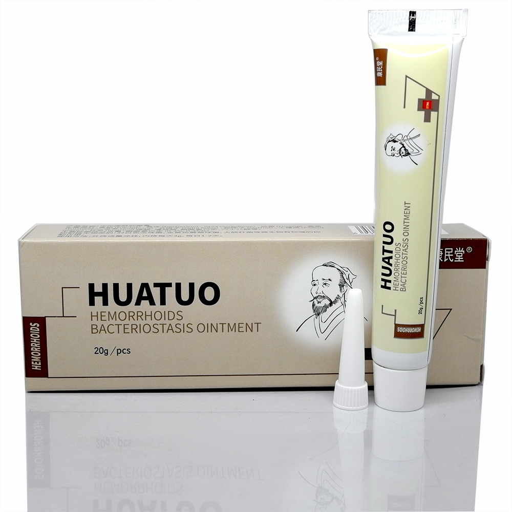 Good Quality Hua Tuo Hemorrhoids Ointment Herbal Materials Powerful Cream External Anal Fissure Internal Mixed Hemorrhoids in Massage Relaxation from Beauty Health