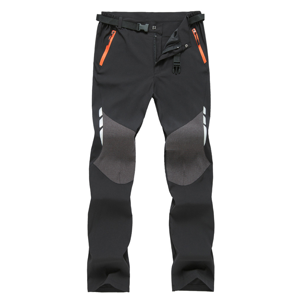 SAGACE Quick-drying Pants Men's Outdoor Gore-Tex Pants Hiking Pants Thin Section Breathable Loose Casual Sports Straight  Pants