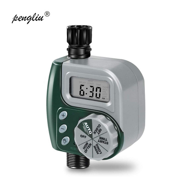 Garden Watering Timer Irrigation Controller plastic Programmable Automatic Electronic Home Hose Faucet Autoplay Self watering