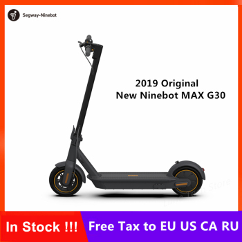 2019 New Original Ninebot MAX G30 KickScooter Foldable Smart Electric Scooter Hoverboard 350W Power 10inch wheel 65Km mileage