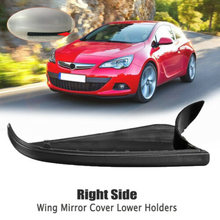Car Rearview Mirror Cover Black Holder Mount For Vauxhall for Opel for Astra H MK5 2004-2008 Parts(China)