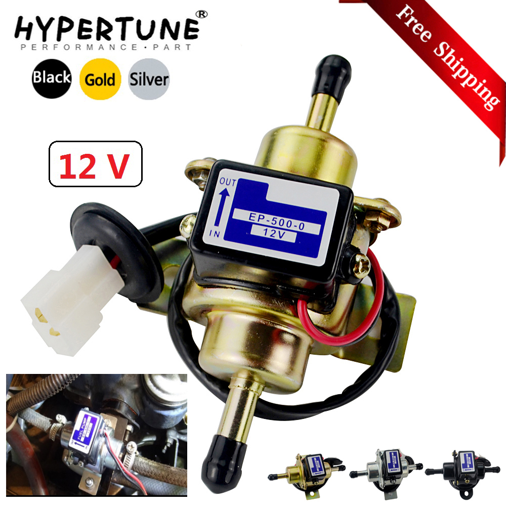 New 12V Electric Fuel Pump 035000-0460 68371-51210 for Kubota Yanmar Engine