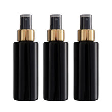 3 Pieces Plastic Makeup Perfume Fragrance Pump Spray Bottles Container Set 100ml(China)
