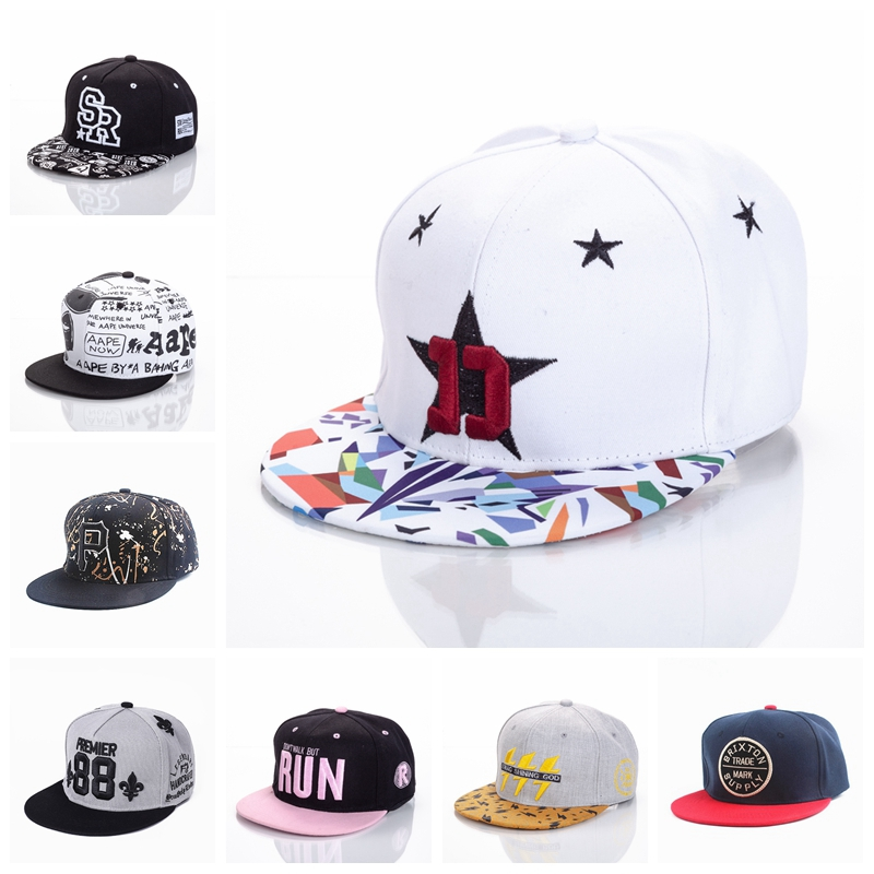 10 Styles Adult Snapback Caps High Quality Embroidered Baseball Cap For Men And Women Acrylic Boy Girl Hip Hop Hat New Headwear