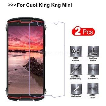 Перейти на Алиэкспресс и купить 2 шт для Cubot KingKong Мини стекло протектор экрана 9H ультра-тонкая прозрачная пленка для телефона для Cubot King Kong мини-закаленное стекло