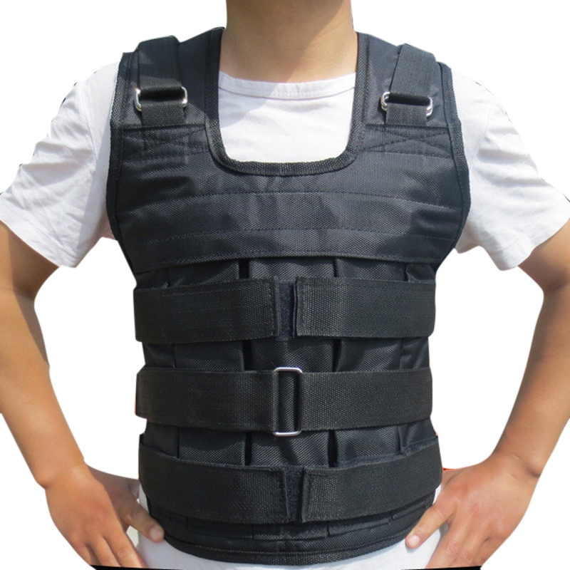 Running Vest-Adjustable Max Load 20kg Weighted Vest//Jacket Exercise Training Waistcoat
