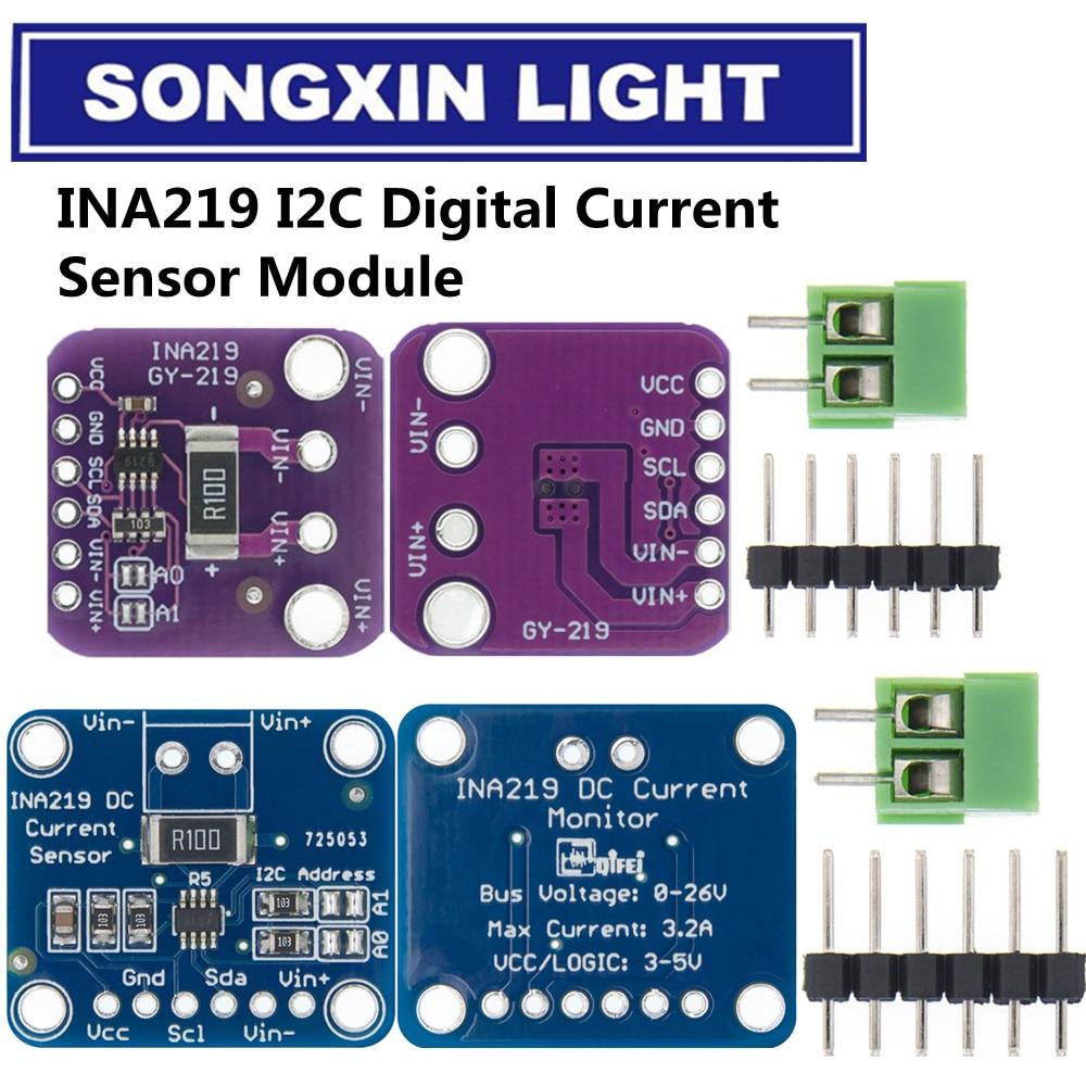10 шт./лот, двунаправленный модуль датчика контроля тока/мощности с нулевым дрифтом