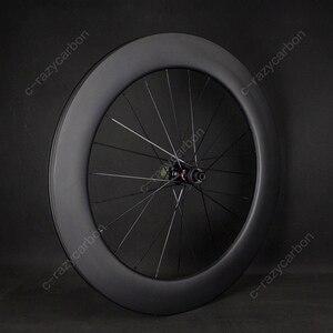 Image 2 - משלוח חינם שוויצרי 350 כביש אופניים U צורת Aero גלגלי כביש דיסק בלם DT אופני מירוץ Centerlock Thru Axle ללא פנימית /נימוק מכריע