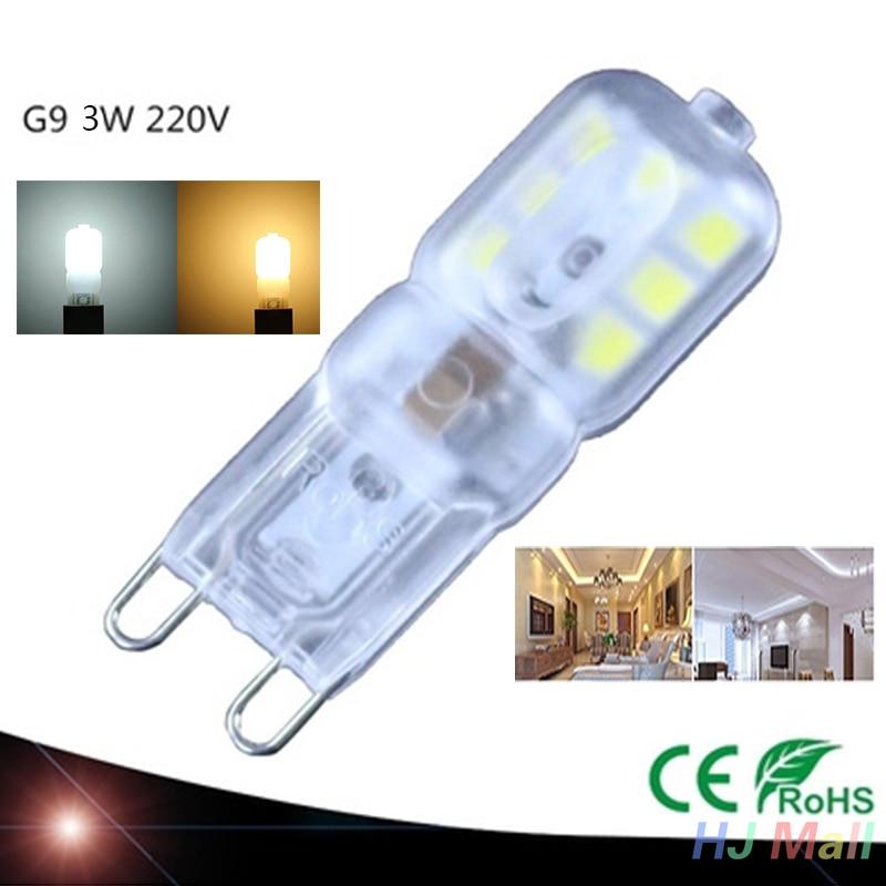Dimmable E26 E12 E27 E14 G9 GU10 LED D'ampoule De Maïs 2835 SMD Lumière Lampe Blanche Lumineuse