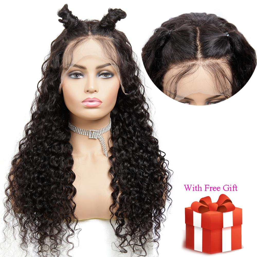 13x4 Lace Front Wig Brazilian Hair Remy Water Wave Real Human Hair Toppers For Black Women Extensions My First Wig Near Me
