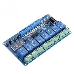 Профессиональный 8-канальный Многофункциональный реле времени задержки интерфейсная плата модульный оптрон светодиодный релейный модуль