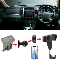Fit for Mitsubishi Pajero 4th Gen V80 2007 2019 Car Styling Accessories Mobile Cell Phone Holder Air Vent Mount Cradle Stand RHD
