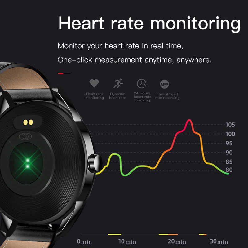 LIGE 2019 ใหม่สมาร์ทนาฬิกาผู้ชายกีฬากันน้ำสำหรับ iPhone Heart Rate ความดันโลหิตฟิตเนส Tracker smartwatch reloj inteligente