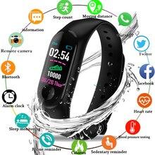 M3 цветной ips-экран, умный спортивный фитнес-браслет для мужчин и женщин, измеритель артериального давления, трекер активности, смарт-браслет, часы, шагомер