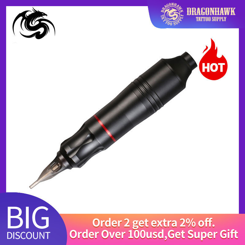 Professional Rotary Tattoo Machine Pen Motor For Liner Shader Tattoo Gun Motor Microblading Aluminum Alloy Tattoo Machine Kit
