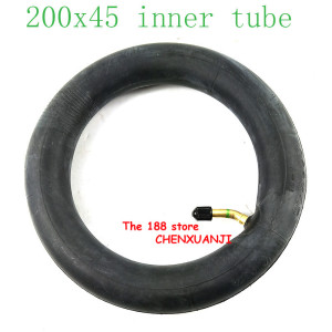 "Image 4 - 200x45 Inflated inner tube For E twow S2 Scooter Pneumatic Wheel 8"" Scooter Wheelchair Air wheel inner tire 8x1 1/4 tube"