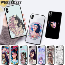 WEBBEDEPP Melanie Martinez Silicone soft Case for iPhone 5 SE 5S 6 6S Plus 7 8 11 Pro X XS Max XR