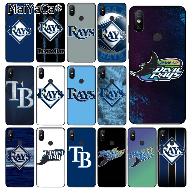 MaiYaCa Tampa <font><b>Bay</b></font> Rays TPU Soft Silicone Phone Case for xiaomi mi 6 8 se note2 <font><b>3</b></font> mix2 redmi <font><b>5</b></font> 5plus note 4 <font><b>5</b></font> <font><b>5</b></font> cover image