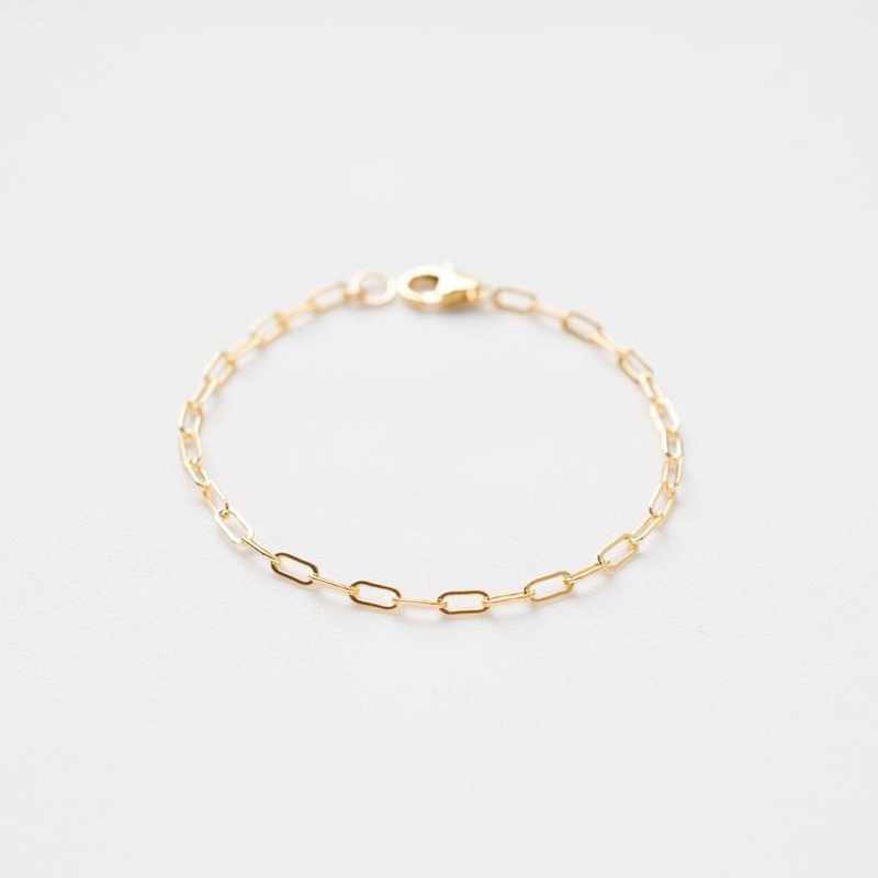 Gold Filled Chain Bracelet Handmade  Jewelry Boho Charms Bracelets Vintage Anklets For Women Bridesmaid Gift