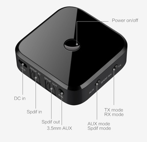 Image 5 - TX16 Bluetooth 5.0 HD Audio Transmitter Receiver Supports 3.5mm AUX SPDIF Digital For PC TV Wireless Adapter