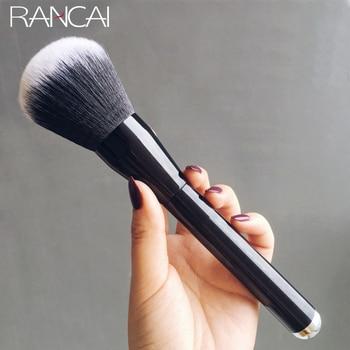 RANCAI 1pcs Large Powder Brush Gold Blush Cosmetics Makeup Brushes Foundation Cosmetic Beauty Tools pinceis de maquiagem 1pcs large powder makeup brush contour blusher concealer cosmetics brushes foundation cosmetic beauty tools pinceis de maquiagem