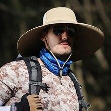 Дышащие уличные альпинистские шапки для рыбаков с защитой от ультрафиолетовых лучей Панама быстросохнущая легкая практичная шапка для подбородка