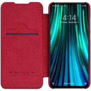 Image 5 - を Xiaomi Redmi Note 8 プロフリップケース Nillkin 秦ヴィンテージ革フリップカバーカードポケット財布 Redmi note8 電話バッグ