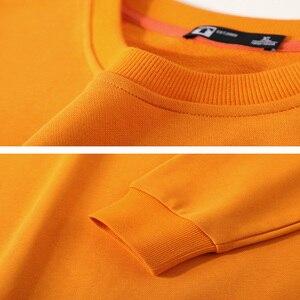 Image 5 - Pioneer Camp 2020 New streetwear Hoodies Men Spring Fashion Black Orange Blue Solid Color Loose Sweatshirts Men AWY0108009