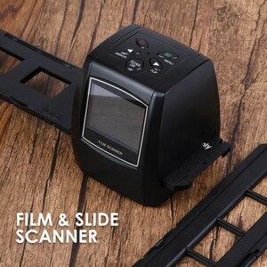 110 126 135KPK Super 8 Slide Film Photo Scanning Machine High Resolution 5MP/10MP 35mm Negative Film Scanner with 2.4in Display