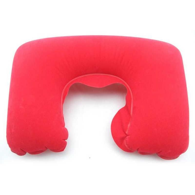 Dijual 1PC Sandaran Kepala Lembut U Berbentuk Bantal Udara Air Inflatable Bantal Mobil Keperawatan Bantal Perjalanan Bantal Dukungan leher