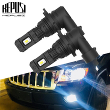 2pcs Car Fog lamp H8 H11 led 9006 hb4 H1 H3 100W High Power LED 12V Auto Bulb 6000K white Daytime Running Light Bulb DRL 2pcs car led fog lamp h11 bright daytime running light auto led parking bulb driving light headlight drl source xenon lamp
