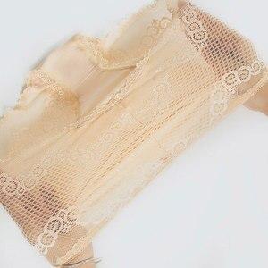 Image 2 - กางเกงลูกไม้เซ็กซี่ชุดชั้นในสตรีกลางเอว plus ขนาดยืดหยุ่นกางเกงสุภาพสตรีโปร่งใสตาข่ายหญิงชุดชั้นในสบาย