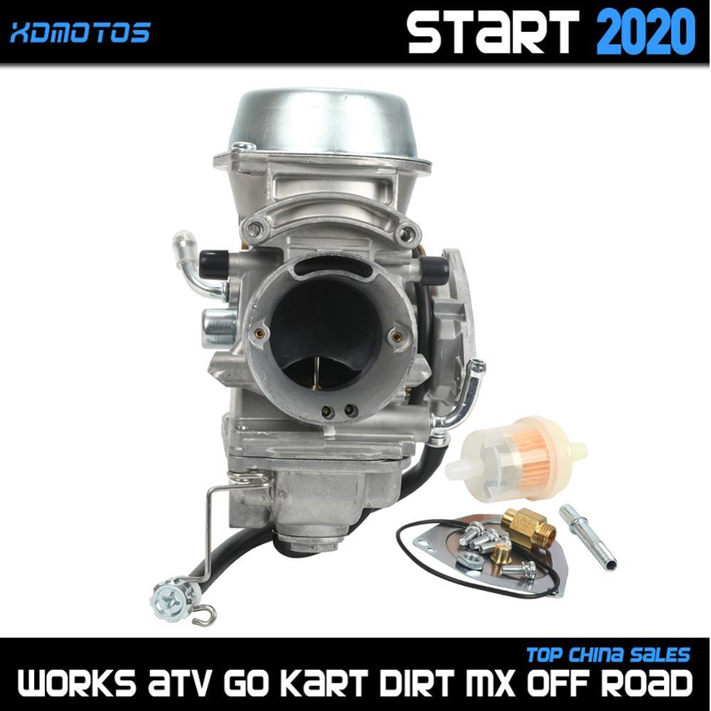 Карбюратор PD40J 40 мм для Polaris Sportsman 500cc ATV Quad UTV 2001 2002 2003 2004 2005 2010 2011 2012 4X4 6X6, детали для квадроциклов, КАРБЮРАТОР