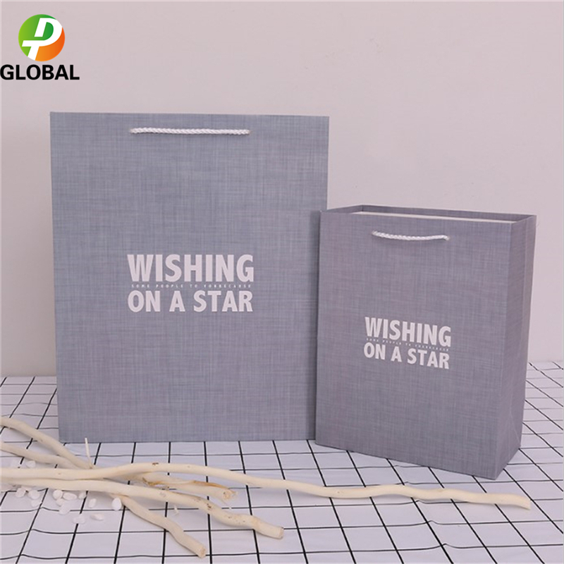 D&P 50pcs Wedding Gift Bag Paper Bag Hand Gift Bag Birthday Party Paper Bag Tote Can Be Customiz 18*23*10cm /26*32*12 cm - 2