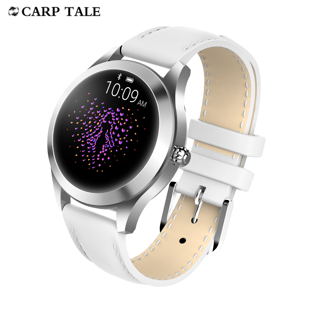 KW10 smartwatch 2020 women's Fitness Bracelet Smart watch IP68 Waterproof Heart Rate Monitor fashion watches For huawei iphone
