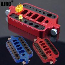 RC metal mini red soldering tool holder model car drone marine welding tool T plug connector XT60 XT90