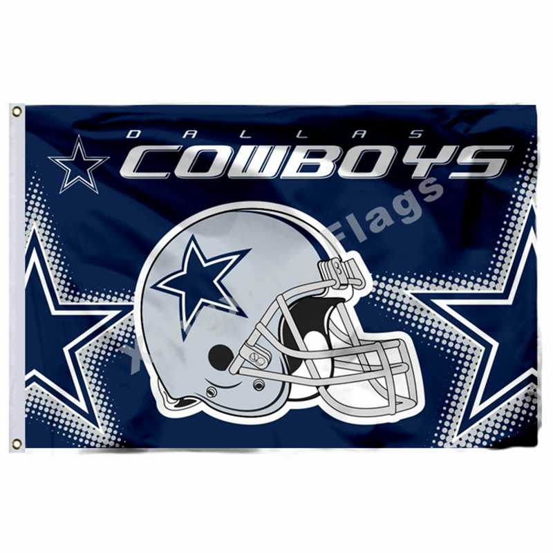 Dallas Cowboys Flagge 3ft x 5ft Polyester Banner Fliegen No.4 Größe 4 90X150cm Custom flagge