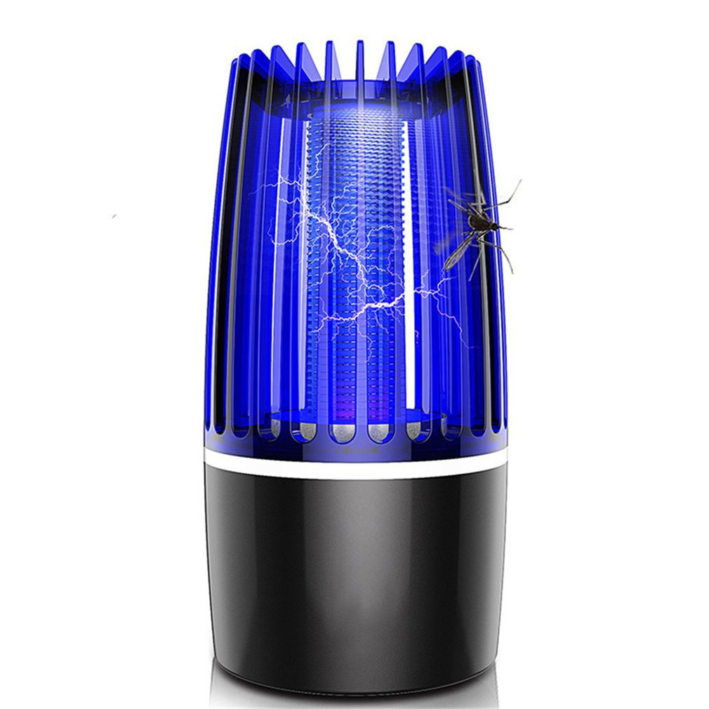 Electric Shock Mosquito Killer Charging USB Electric Shock Mosquito Trap  For Indoor Use Pest Control Bug Zapper New