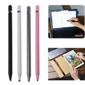 Bolígrafo Digital con pantalla táctil y cabezal de tela portátil de 5,5 pulgadas para Samsung Tab/LG/Huawei/Xiaomi smartphone/Tablet para iPad 2018