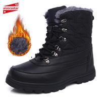 New Motorcycle Boots Biker Windproof Shoes Plush Fur Warm Riding Boots Moto Thermal Motorcycle Shoes Snow Boots Autumn Winter