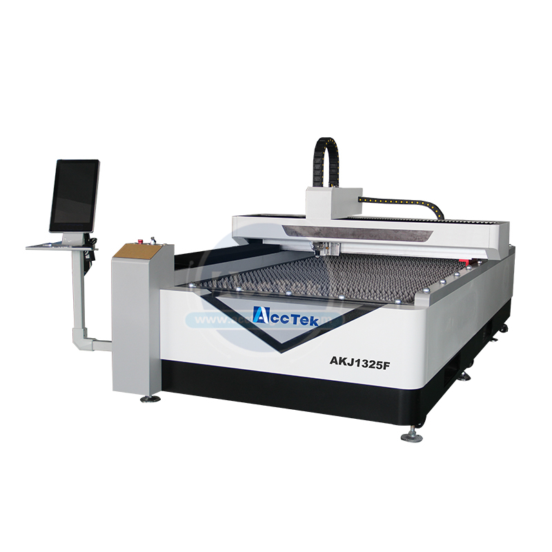 Hot Sale 10mm Carbon Steel Laser Cutting Machine Metal Laser Cutting With Computer AKJ1325F