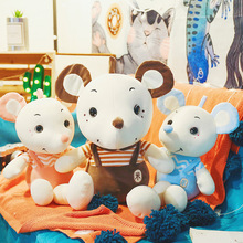 35-60cm cute mouse doll plush toy accompanying pillow to send girls holiday gift Stuffed animal cartoon WJ031