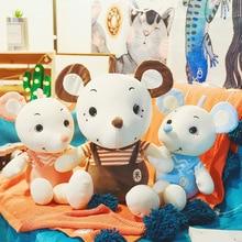 35-60cm cute mouse doll plush toy accompanying doll pillow to send girls holiday gift Stuffed animal cartoon plush toy WJ031 1pcs 24 genuine 60cm moomin hippo plush toy stuffed doll little fertilizer valentine park spring bom