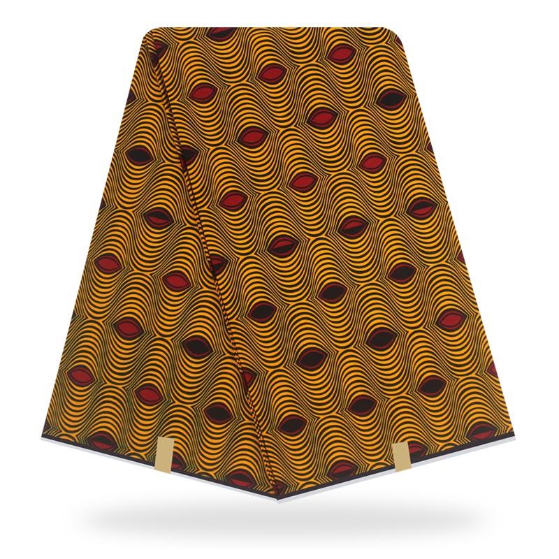 2020New Arrival Veritable Wax Dutch Real Wax Dutch Wax 6 Yards African Printed Fabric 100% Cotton