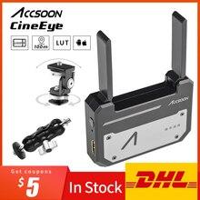 Accsoon CineEye ไร้สาย 5G 1080P MINI HDMI อุปกรณ์การส่งผ่าน Video Transmitter สำหรับ IOS iPhone สำหรับ iPad โทรศัพท์ Android